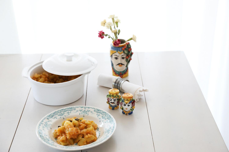 La zucchina lunga con le patate maghetta iaia guardo for La zucchina